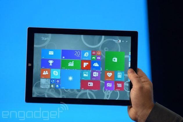Microsoft announces its biggest tablet yet, the 12-inch Surface Pro 3