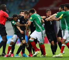 Watch Mexico's Confederations Cup Tie With New Zealand Erupt into Mass Brawl