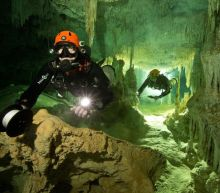Divers find 'amazing' underwater tunnel network that could unravel mysteries of Mayan civilisation