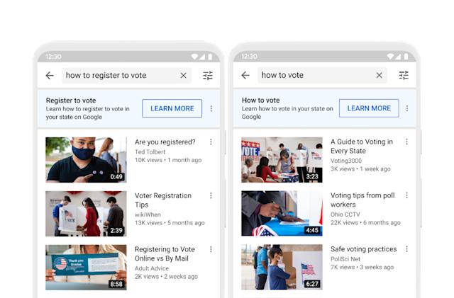 YouTube is sharing more 'authoritative' election info with voters