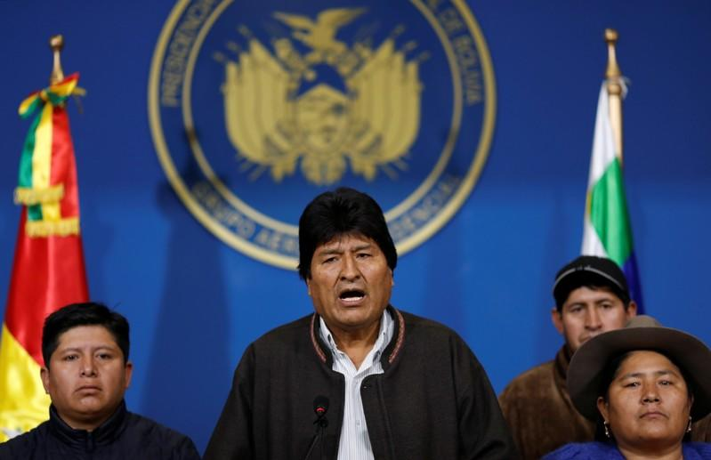Evo Morales granted asylum in Mexico