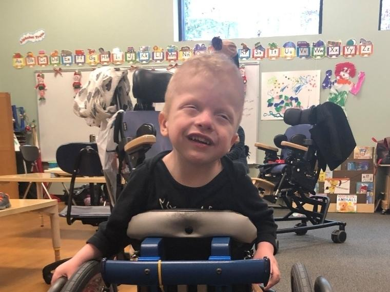 Bentley Stanwise has a host of medical conditions stemming from a genetic disorder; the Brick PBA Helping Hands basketball game fundraiser was set to be dedicated to help his family.