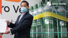 Cerro Verde, a Freeport-McMoRan Company, Continues Oxygen Donations and Other Pandemic Relief to Arequipa Hospitals