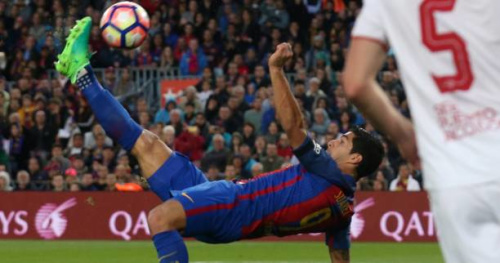Foot - ESP - Le Barça surclasse le Séville FC avec un épatant Messi et prend provisoirement la tête de la Liga