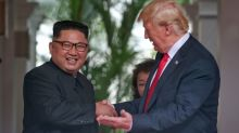 'A very talented man who loves his country very much': Internet attacks Trump over his praise for Kim Jong-un