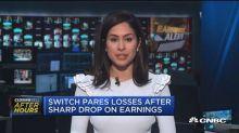 Switch plummets on earnings miss