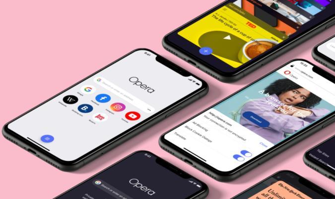 Opera redesign on iOS