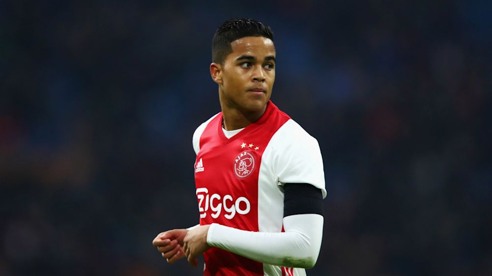 VIDEO: Like father, like son - Kluivert Jr opens Ajax account
