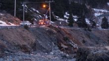 Landslide closes Beachy Cove Road in Portugal Cove-St. Philip's