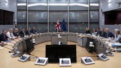 UK upbeat as Brexit talks with EU continue