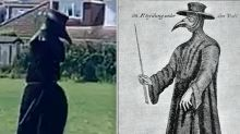 Police hunt mystery person walking streets as 17th-century plague doctor during coronavirus outbreak