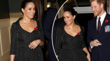 The photo royal fans say signals Meghan Markle is pregnant