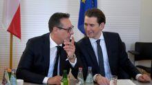 Autriche: un an de lune de miel entre droite et extrême droite