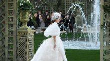 Hosenanzüge für Bräute sind laut Chanel offiziell in