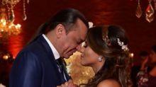 Frank Aguiar se casa com namorada 21 anos mais nova em São Paulo