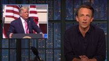 Seth Meyers: 'The Trump White House has given up' on the pandemic
