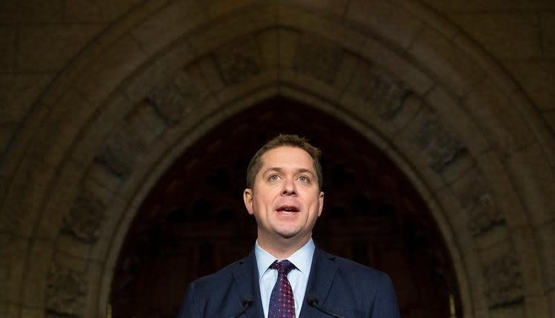 Scheer blames Trudeau's 'naive approach' to China for Huawei crisis