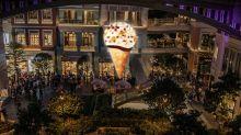 【利東街雪糕】最後機會!利東街7米高Häagen-Dazs發光雪糕脆筒下開派對