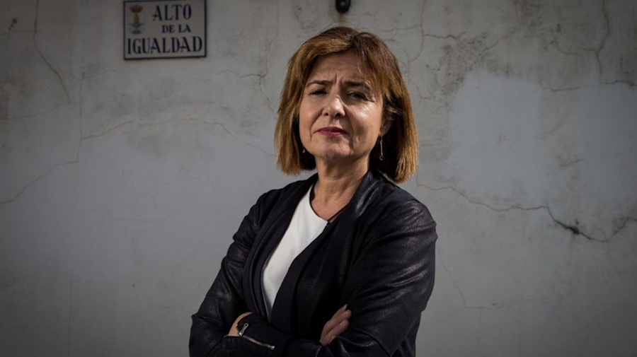 La lucha de Silvia, una 'viuda de hecho'