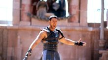 "Gladiator star Russell Crowe says the original script was ""so bad"""