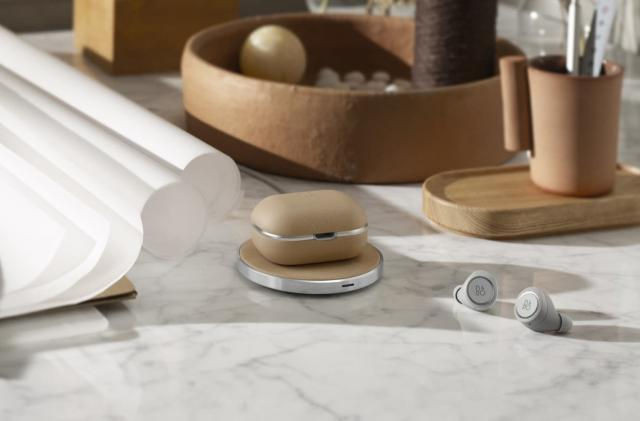 B&O made a wireless charging case for its all-wireless earphones