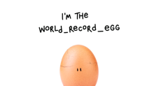 World record egg big reveal brings attention to mental health