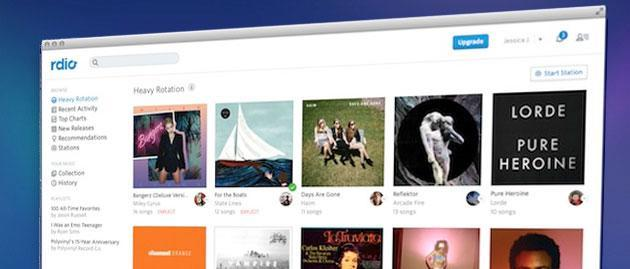 Rdio plans to stop using Echo Nest, because Spotify bought it