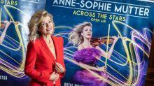 La star du violon Anne-Sophie Mutter, atteinte du coronavirus, partage sa passion de Beethoven sur les réseaux