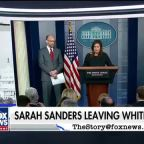 White House reporters secretly toast to Sarah Sanders