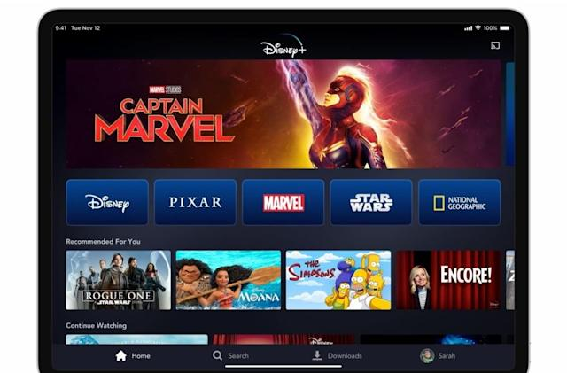 Get a year of Disney+ for $10 less on Cyber Monday