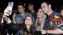 """""""Ainda estranham me ver adulta"""", diz Larissa Manoela no Rock in Rio"""