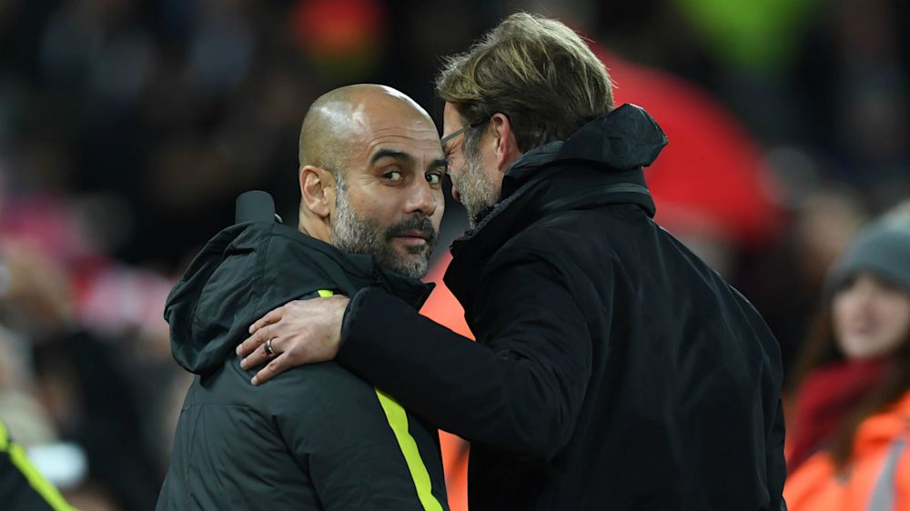 Guardiola admires Klopp's charisma: He celebrates much better than me