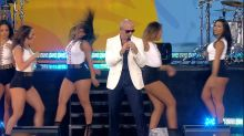 'GMA' Summer Concert Series: Pitbull Performs 'Messin' Around'