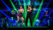 AJ Pritchard isn't happy over low scoring 'Strictly' salsa