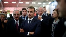 France's Macron evades questions on halting Saudi arms sales