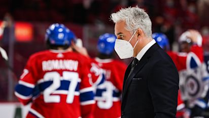Canadiens coach tests positive for COVID-19