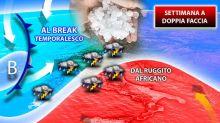 Italia bollente, ma da venerd arrivano i temporali con grandine