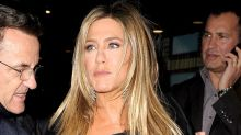 Jennifer Aniston Accidentally Commits Fashion Faux Pas at Movie Screening