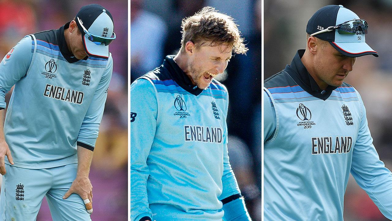 England send major warning after batsmen's injury chaos
