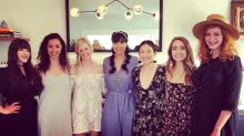 '2 Broke Girls' Star Beth Behrs Shares Sweet Bridal Shower Snaps With Kat Dennings