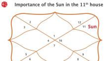 The Sun In 11th House: Vedic Astrology