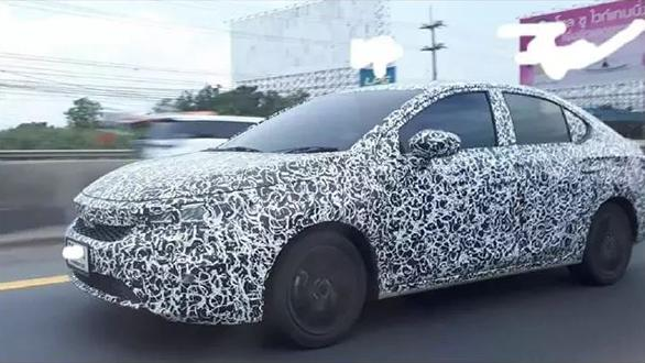 Next Generation Honda City spotted close to production form - could debut at Tokyo Motor Show
