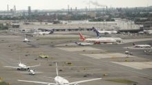 Newark airport reopens after engine fire prompts plane evacuation