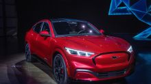 Ford muscles in on Tesla with electric Mustang SUV