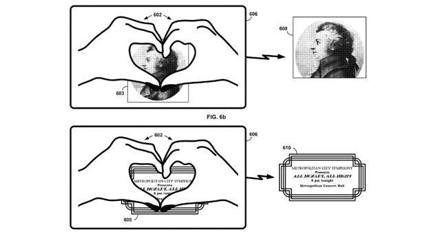 Google gesture patent would let Glass wearers 'heart' real-world objects