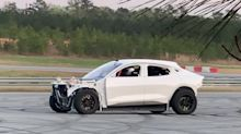 What's the Deal With This Drifting Mustang Mach-E?