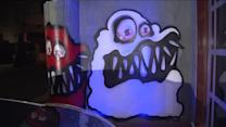 Graffiti At Chris Brown`s House Outrages Neighbors