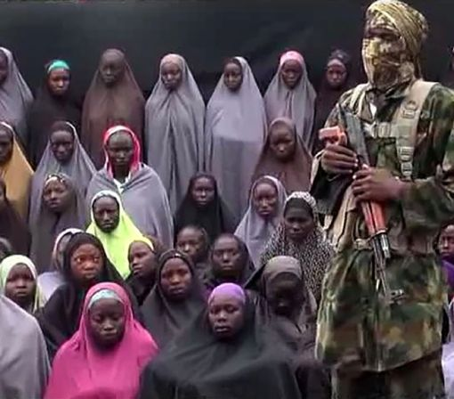 New Boko Haram video 'shows Chibok girls'