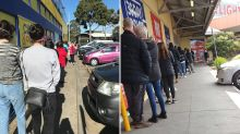 Coronavirus Victoria: 'Massive' queues at stores after face mask announcement