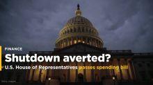 U.S. House Passes Spending Bill as Senators Consider Forcing a Shutdown